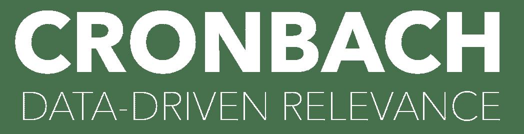 Cronbach GmbH - Data-Driven Relevance | Logo