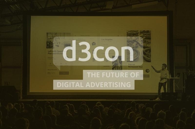 Joost van Treeck auf der Programmatic Advertising Konferenz d3con